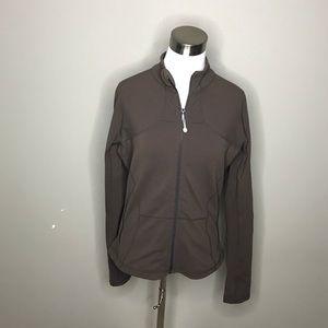 Chocolate Brown Lululemon Jacket 12/XL